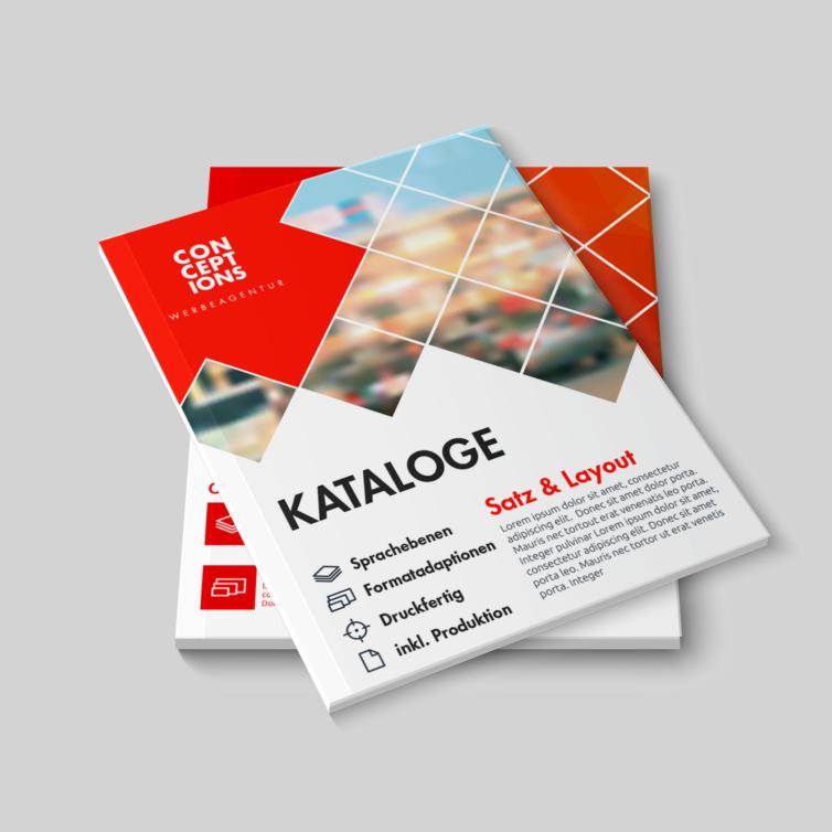 Editorial Design (Broschüren, Kataloge, Magazine …)